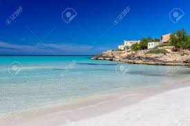 beach es trenc beautiful coast of mallorca spain stock photo 82793999
