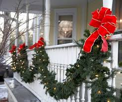 Image Porch Easy Outdoor Christmas Decorations Ideas On Budget 23 Round Decor 39 Easy Outdoor Christmas Decorations Ideas On Budget Round Decor