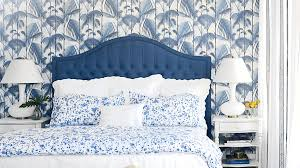 blue bedrooms. Designer Bailey McCarthy Creates A Striking, Monochromatic Look In Our Cinnamon Shore Showhouse Master Bedroom Blue Bedrooms O