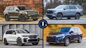 3 row suvs every 7 seater suv for