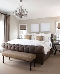 modern chalet master bedroom