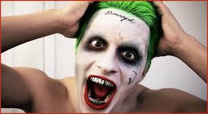 best joker makeup tutorial from squad jared leto vlog