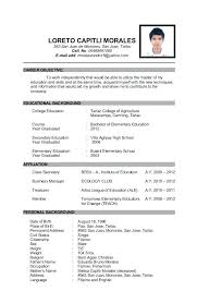 Updated Resume Interesting Update Resume Templates Engneeuforicco