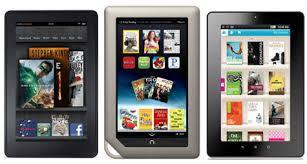 Tablet Ereader Comparison Chart Nook Tablet Vs Kindle Fire Vs Kobo Vox Comparison Review