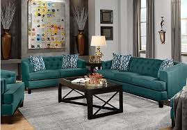 ... Living rooms living room sets chicago green classic 7pc living ...