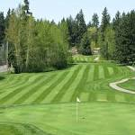Lake Wilderness Golf Course in Maple Valley, Washington, USA ...