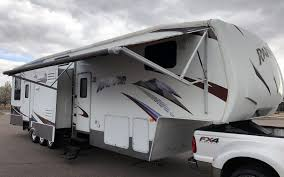 2008 keystone raptor 3812ts 5th wheel cer toy hauler rv in denver co 80022