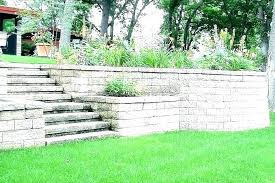 landscaping wall ideas retainer l ideas landscape retaining stunning brick landscaping ls small front yard concrete