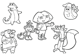 Nick Jr Coloring Pages Nick Jr Coloring Pages Free Coloring Book