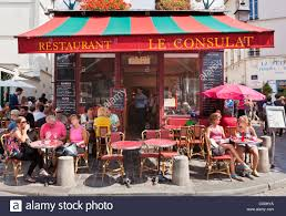 Image result for cafe in montmartre