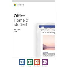 Microsoft Office Home and Student 2019   1 device, Windows 10 PC/Mac ...