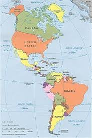 continent of america map. Unique Continent CIA Political Map Of The Americas In Lambert Azimuthal Equalarea Projection Intended Continent Of America Map O