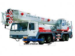 50ton Truck Crane Qy50v Truck Crane Lifting Machinery