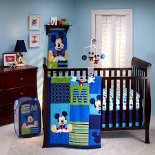 mickey mouse crib sheet set