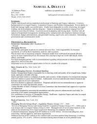 sample resume for investment banking investment banking free resumes free resumes