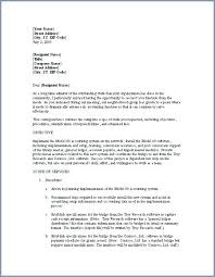 Cover Letter For Proposal Proposal Letter Template Proposal Letter