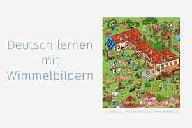 Deutsch Lernen Mit Kostenlosen Wimmelbildern Daf Für Flüchtlinge