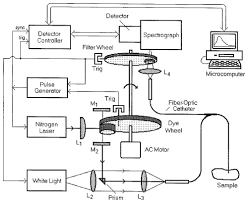 osa rapid multiexcitation fluorescence spectroscopy system for in 1 block diagram of the fast eem system l1 l2 l3 l4 lenses m1 m2 mirrors trig trigger source