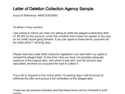Letter of Deletion