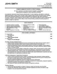 Sample Resume Format For Hr Executive Hr Resume Templates Resume