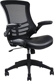 stylish office chairs. Techni Mobili Stylish Mid-Back Mesh Office Chair Adjustable Arms. Color: Black Chairs