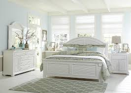 white coastal furniture. White Bed Coastal Look. Duck Collection Louvered Furniture T
