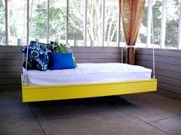 hanging porch bed plans hanging bed plan hanging outdoor bed via hanging porch bed plans diy