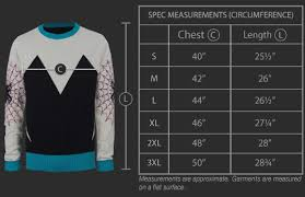 We Love Fine Size Chart For Fans By Fans Marvel I Am Miles Morales Knit Sweater