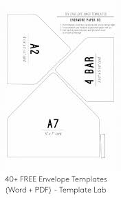 A2 Card Template Word Diy Envelope Liner Templates Evermore Paper Co 1 Print
