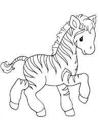 Small Picture Zebra coloring pages Download and print zebra coloring pages