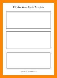 flash card word template editable flashcard template flashcard template for word free