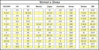 Shoe Size Conversion Chart Women 58 Inquisitive Marc By Marc Jacobs Shoe Size Chart
