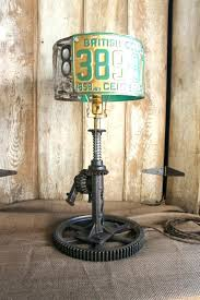 table lamp diy industrial lamps table lamp himself tinker lights yourself home design wine bottle table
