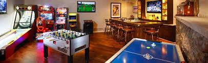Home game room Luxury Home Game Room Design Mile High Arcade Game Room Design Mile High Arcade