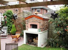 image of outdoor fireplace ideas deck
