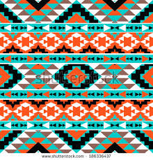 Navajo Pattern Best Seamless Colorful Navajo Pattern Stock Vector Royalty Free