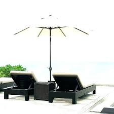 umbrella table stand side patio dining bistro for