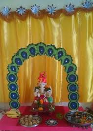 ganpati decoration ideas ganesh pooja decoration ganesh and craft