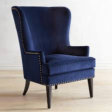 Asher Verse Nailhead Trim Ink Blue Chair Pier 1 Imports