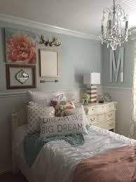 Girls bedroom, mint, coral, blush, white, metallic gold | My Own ...
