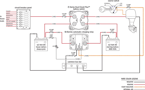 upgrading battery switching and charge management with the add a how to hook up dual batteries in a boat at Marine Battery Isolator Wiring Diagram