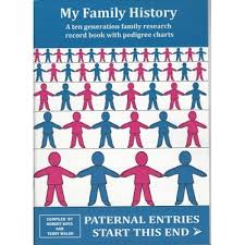 My Pedigree Chart My Family History A Ten Generation Family Research Record