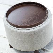 circular leather ottoman pier one ottoman round storage ottoman