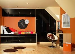 childrens fitted bedroom furniture. Black Gloss \u0026 Maple Madrid Design Fitted Bedroom Childrens Furniture