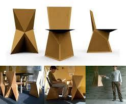 diy cardboard furniture. Kraftwerk: DIY Cardboard Chair Diy Furniture