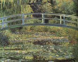 the water lily pond pink harmony by claude monet