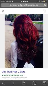 Although The Shades Of Red Hair