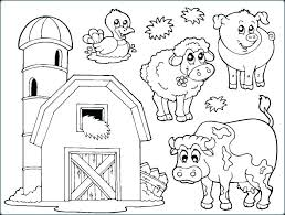 Inspiring Farm Animal Color Pages Farm Animals Coloring Pages