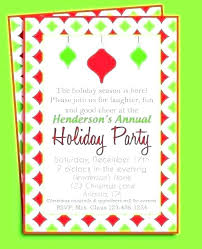 Funny Christmas Party Invite Wording Guluca