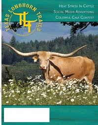 Longhorn Horn Growth Chart July 2019 Texas Longhorn Trails Magazine By Texas Longhorn